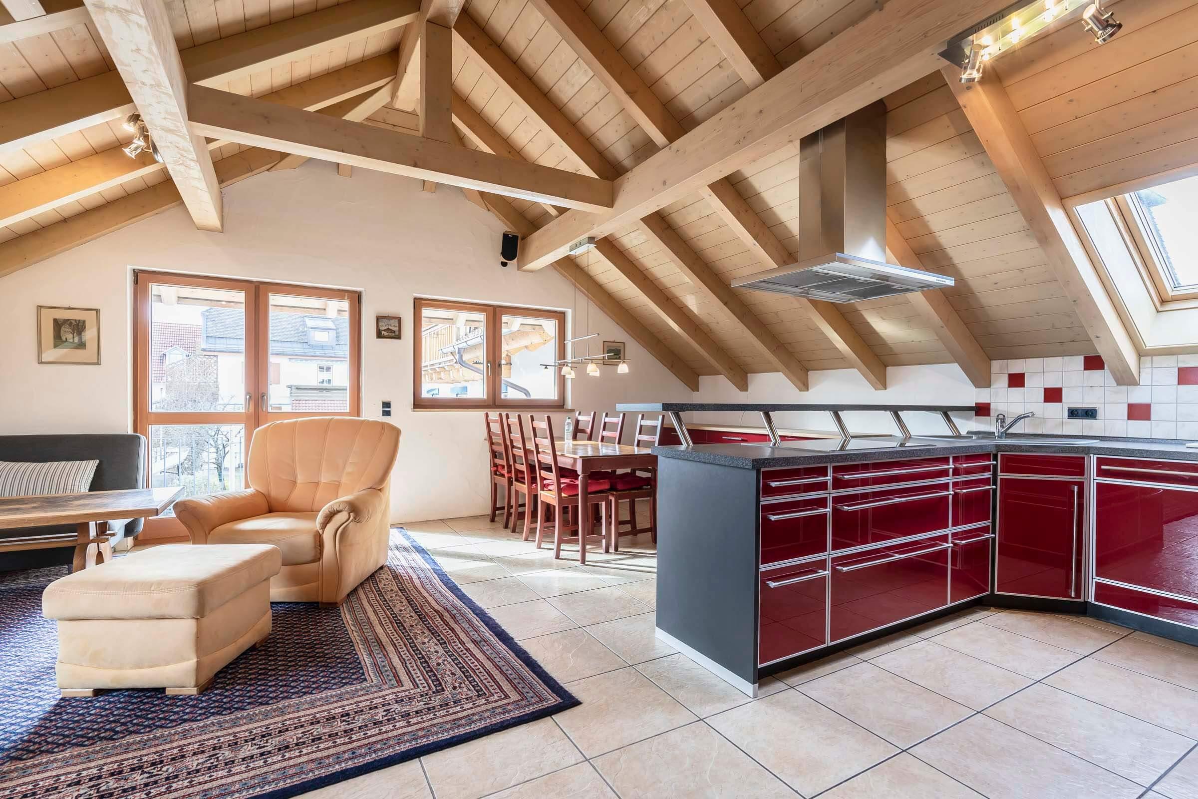 Hotel Haus Am Gries Murnau Apartment Kitchen