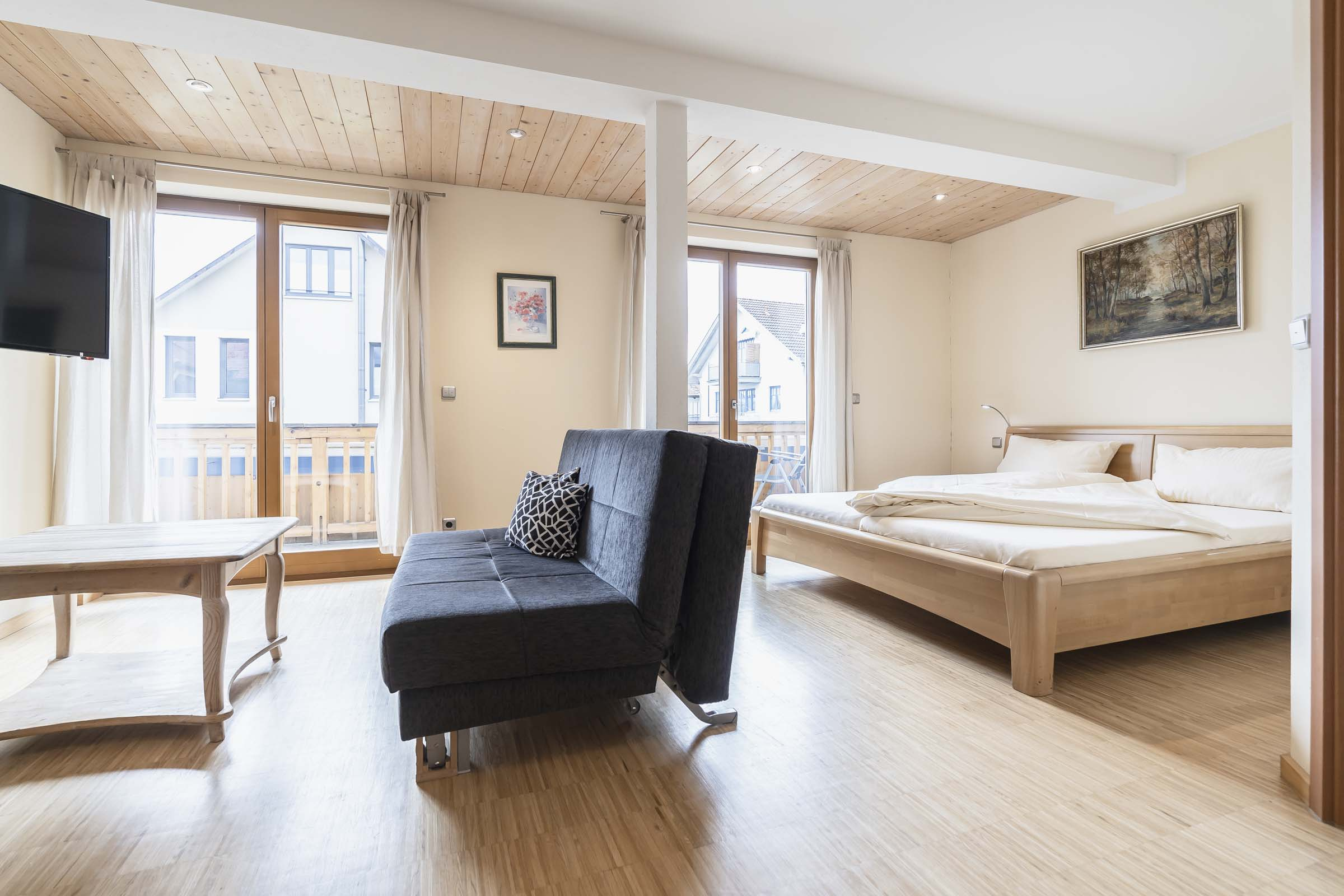 Hotel Haus Am Gries Murnau Double Rooms Balcony