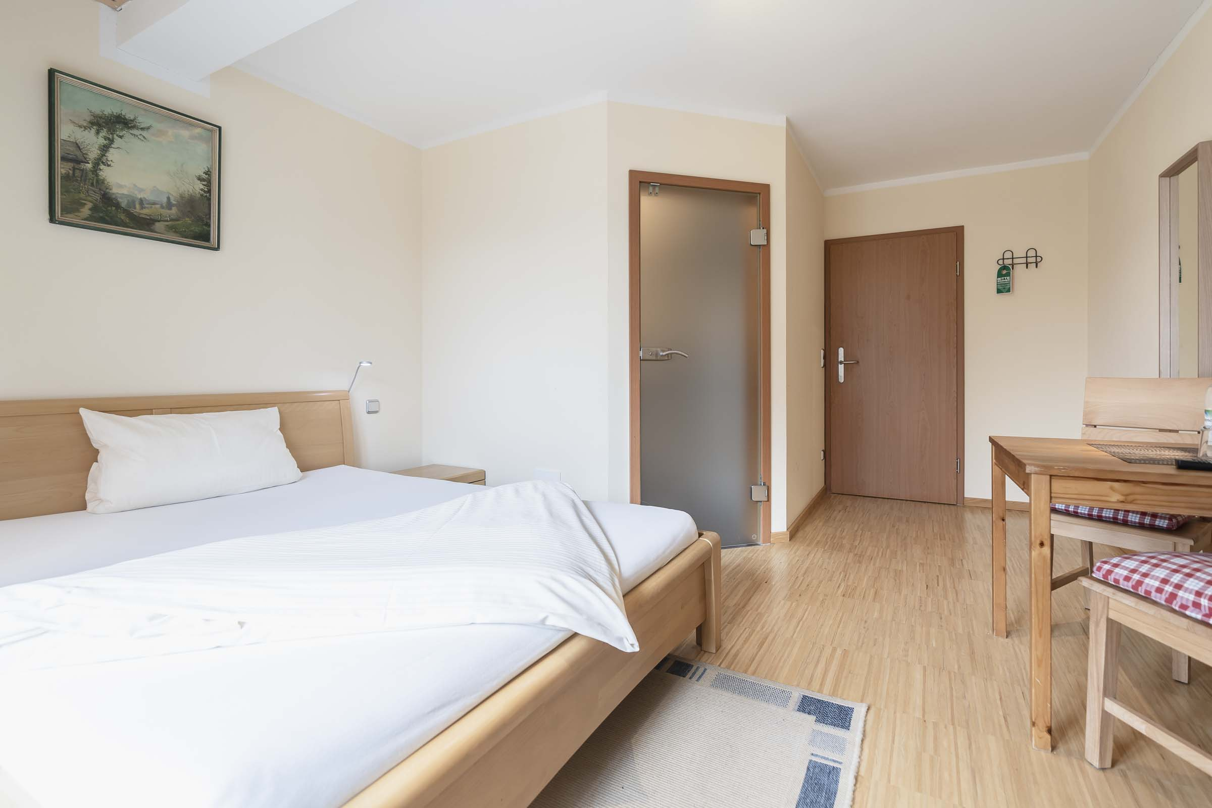 Hotel Haus Am Gries Murnau Single Room With Balcony