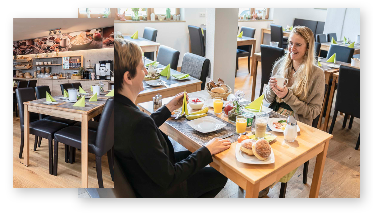 Hotel Haus Am Gries Murnau Breakfast